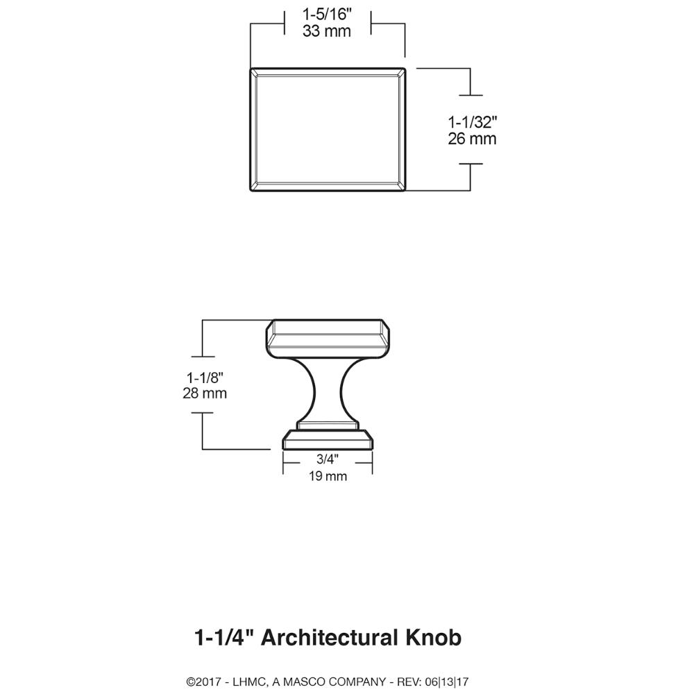 Shop Brainerd Architectural Collection 10-Pack Satin Nickel ...