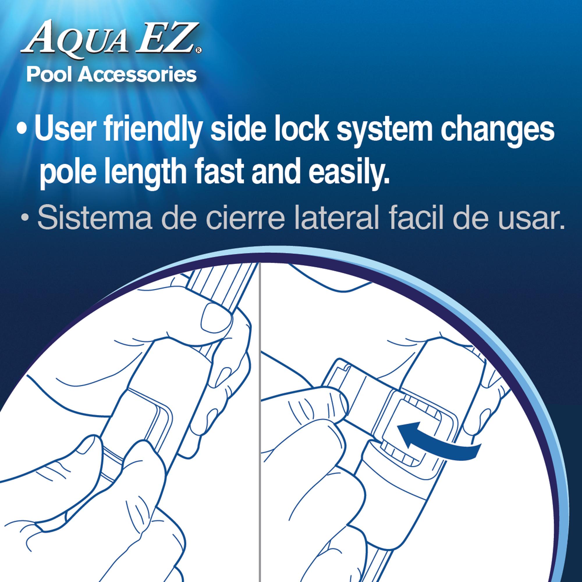 Aqua EZ 2-piece telescopic 16 ft Aluminum Pool Pole at Lowes com